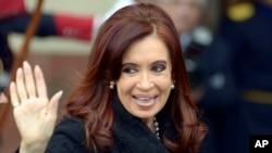 Tổng thống Argentina Cristina Fernandez