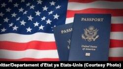 Ba passeports Américains, 21 mai 2020. (Twitter/Departement d'Etat ya Etats-Unis)