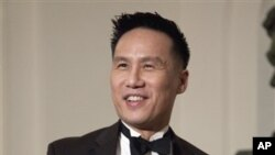 Actor B.D. Wong arrives at the White House in Washington, Wednesday, Jan. 19, 2011, for a state dinner in honor of China's President Hu Jintao.