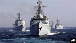 中国海军(资料照片)