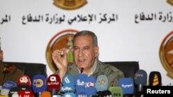 Khaled al-Obeid, le ministre de la Défense de l'Irak, 19 décembre 2015.