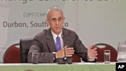 "FILE - U.S. envoy Todd Stern, pictured in 2011, says India's decision to phase down HFC use ""signals that they share our concern about the growth of HFCs and their impact on the climate system."""