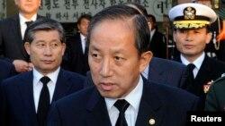 김태영 전 한국 국방장관 (자료사진)