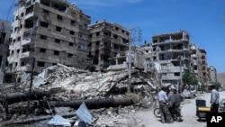 联合国消息源:联合国安全小组杜马遭炮击