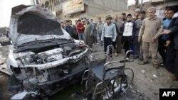 48 të vrarë nga një shpërthim bombe në një funeral në Bagdat