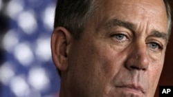 House Speaker John Boehner (file photo)