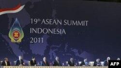 Lãnh đạo ASEAN tại Hội nghị Thượng đỉnh ASEAN ở Nusa Dua, Bali, 17/11/2011