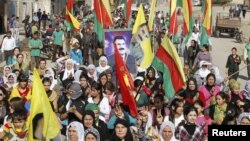 Protest Kurda u Siriji