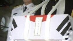 2012-05-25 粵語新聞: 首批韓戰陣亡南韓軍人遺骨自北韓返國