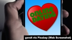 """""""Rencontres en ligne."""" Source: geralt via Pixabay"""