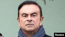 Chủ tịch Carlos Ghosn của hãng xe Nissan.