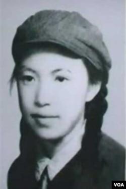 林昭遗像 (资料图片)