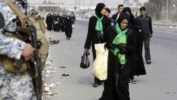 در انفجار بمب در کربلا ده ها زائر شیعه کشته یا مجروح شدند
