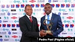 Pedro Paxi, jornalista angolano
