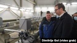 Predsednik Srbije na otvaranju gasovoda Balkanski tok (izvor: predsednik.rs, foto Dimitrije Gol)