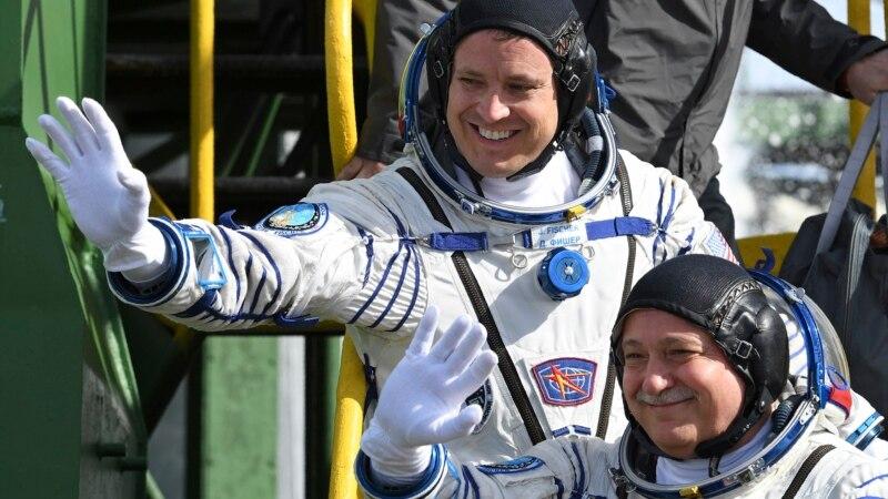 Российско-американский космический экипаж отправился к МКС
