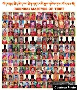 中国境内藏区126位自焚藏人的照片(唯色博客/推特图片)