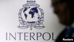 Interpol logo.