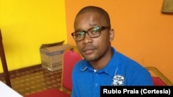 Rúbio Praia, jornalista angolano