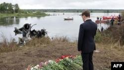 Rusia mban zi për viktimat e përplasjes së një avioni
