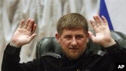 FILE - Ramzan Kadyrov