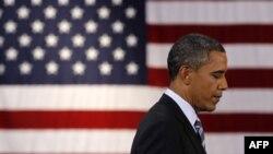 TT Barack Obama đọc diễn văn tại trường trung học Benjamin Banneker Academic ở Washington, ngày 28 tháng 9, 2011