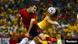 2014 Brazil World Cup Moments, June 18, 2014