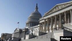 미국 워싱턴의 국회의사당. (자료사진)