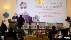 د بامیان په دوه ورځني کنفرانس کې د افغان حکومت د لوړپوړو چارواکو سربیره د ۲۰ هیوادونو کارپوهانو ګډون کړی