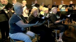 Senior Singers Belt it Out for Better Health