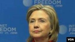 La secretaria Clinton dijo que le gustaría volver a la vida privada.