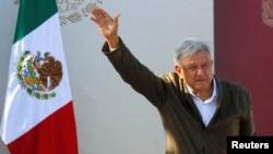 """""""Vamos siempre a buscar el diálogo, no queremos guerra de aranceles, dijo el martes el presidente mexicano, al llegar a un acuerdo con Estados Unidos para evitar aranceles."""