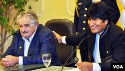 Evo Morales admitió que su país no pude enfrentar al narcotráfico y solicito la intervención de Estados Unidos.