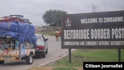 There was chaos at the Beitbridge Border Post recently when visitors clashed with Customs officials over the import ban.