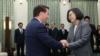 蔡英文:台灣會和美國有更多互訪和交流