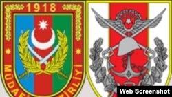 Azərbaycan və Türkiyə ordusunun emblemləri