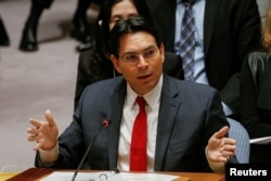 """According to Israel's U.N. Ambassador Danny Danon, """"recognizing Jerusalem as Israel's capital is a critical and necessary step for peace."""""""