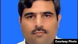 ہری پور کے مقامی صحافی سہیل احمد کی تصویر جنہیں منگل کو مسلح افراد نے فائرنگ کرکے قتل کردیا۔