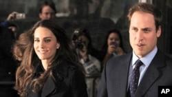 威廉王子和凯特.米德尔顿(档案照)