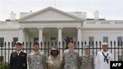 Пикет у Белого дома 7 ноября 2010 в защиту прав военных-геев