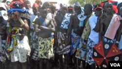 Mucubais no Munícipio de Virei, no Namibe (VOA/A. Chicoca)