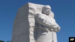 Monumento em Washington homenageando Martin Luther King Jr.