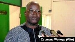 Siméon sawadogo, ministre de l'administration, à Ouagadougou, le 7 juin 2017. (VOA/Zoumana Wonogo)