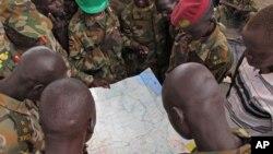 Abasirikare b'Igihugu muri Sudani y'Ubumanuko (SPLA).