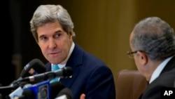 John Kerry et Ramtane Lamamra à Alger