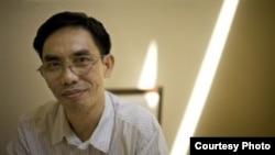 Nhà hoạt động dân chủ người Mỹ gốc Việt Nguyễn Quốc Quân.