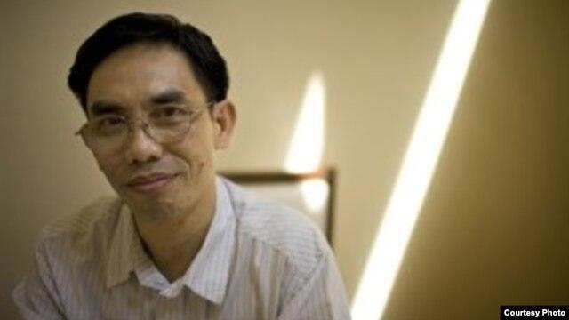 Nhà hoạt động Nguyễn Quốc Quân đã bị bắt giam ngày 17/4 vì các tài liệu đấu tranh bất bạo động trong máy tính xách tay