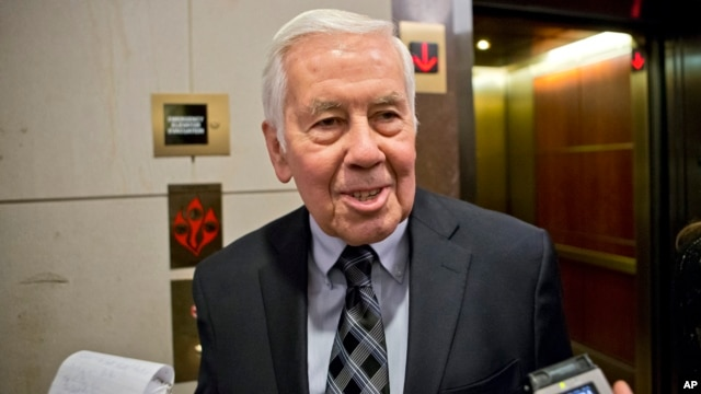 Sen. Richard Lugar, Nov. 13, 2012.
