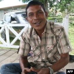 Ông Dhiahuddin, một cựu chỉ huy trong Phong trào Ðấu tranh cho Tự do của Aceh