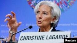 Christine Lagarde, mantan Menkeu Perancis yang kini menjabat sebagai Direktur IMF (foto: dok). IMF menyerukan agar Perancis untuk menaikkan laju reformasi ekonominya.